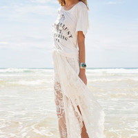 Ophelia Maxi Skirt - Off White