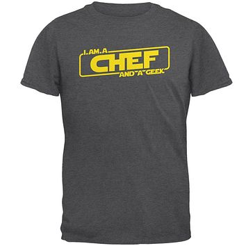 A Chef and a Geek Mens T Shirt