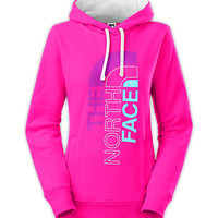 The North Face Women's New Arrivals Shirts & Tops WOMEN'S TRIVERT LOGO PULLOVER HOODIE II