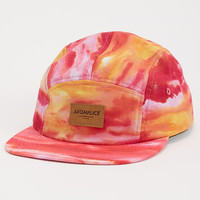Red Ocean Camper 5 Panel Hat