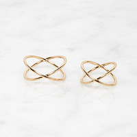 Orbit Midi Ring Set