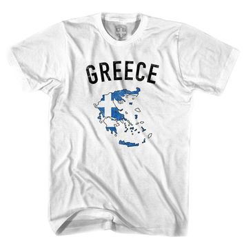 Greece Flag & Country T-shirt