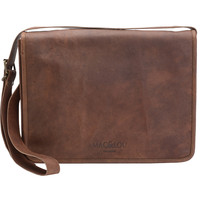 Mac&Lou Julius Leather Messenger Bag - Brown