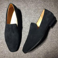 DCCK2 Cl Christian Louboutin Loafer Style #2328 Sneakers Fashion Shoes