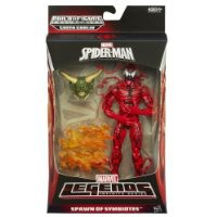 Marvel The Amazing Spider-Man 2 Marvel Legends Infinite Series Spawn of Symbiotes Action Figure Carnage, 6 Inches