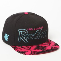 Young & Reckless OG Reckless Black & Pink Snapback Hat - Mens Backpack - Black/Pink - One