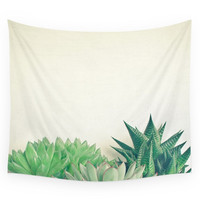 Society6 Succulent Forest Wall Tapestry
