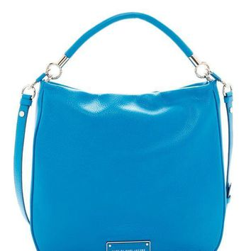 Marc by Marc Jacobs | Take Your Marc Leather Hobo | Nordstrom Rack
