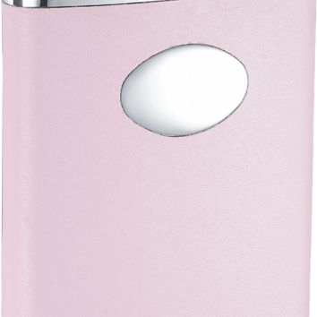 Visol Valentine 6 oz Pink Leather Wrapped Liquor Flask