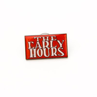 The Early Hours Logo Pin (Red)