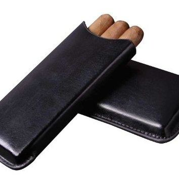"Visol Products VCASE700 ""Amenity"" Soft Leather Cigar Case"