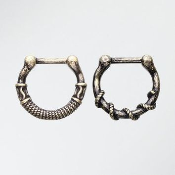 2 Pcs of Rustica Septum Clicker Pack