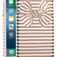 kate spade new york stripe bow iPhone 6 Plus & 6s Plus case | Nordstrom