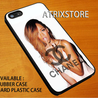 rihana and chanel logo,Accessories,Case,Cell Phone,iPhone 5/5S/5C,iPhone 4/4S,Samsung Galaxy S3,Samsung Galaxy S4,Rubber,24-06-7-Xm