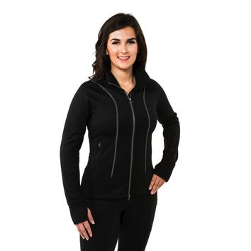Noble Outfitters Ladies Explorer Fleece Jacket - Black