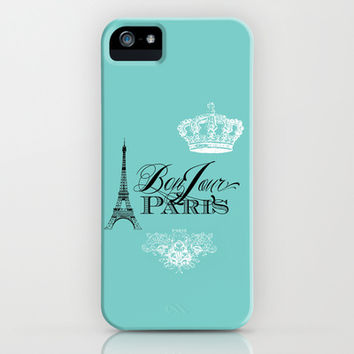 Bonjour Paris iPhone & iPod Case by Color and Form | Society6