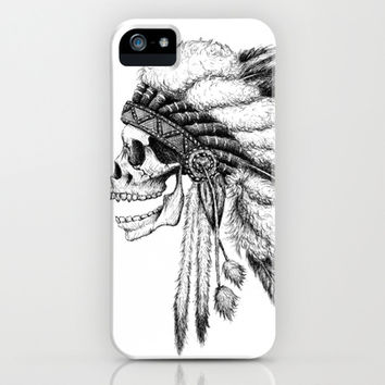 Native American iPhone & iPod Case by Motohiro NEZU
