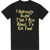 Harry Potter - I Solemnly Sweat That I Am About To Get Food | T-Shirt | SKREENED