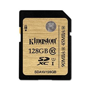 Kingston SDA10/128GB - Tarjeta SD profesional de 128 GB (UHS-I SDHC/SDXC clase 10): Kingston: Amazon.es: Informática