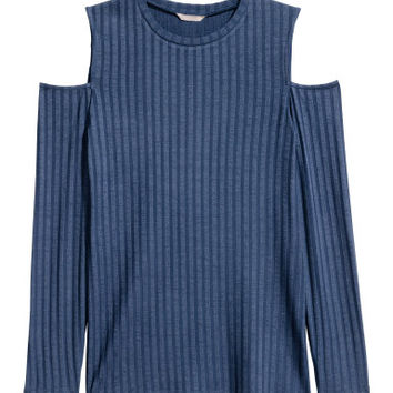 H&M H&M+ Open-shoulder Top $24.99