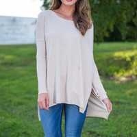 Love Me The Same Tunic, Tan