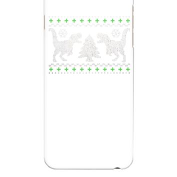 Funny Ugly Christmas T-Rex  - iphone 6 Plus Case