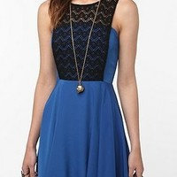 UrbanOutfitters.com > KNT by Kova & T Lace-Top Dress