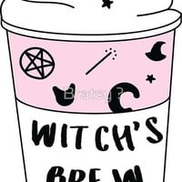 Witch's Brew Sticker