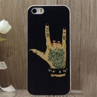 Rock and Roll iPhone 5/5S/6/6S/6 Plus/6S Plus Case Gift Very Light Case-27-170928