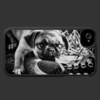 Lovely Playfull Mops Iphone 4 Covers from Zazzle.com