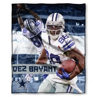 Dallas Cowboys NFL Dez Bryant Silk Touch Throw (50in x 60in)