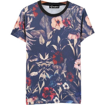 Summer Time Floral Tee