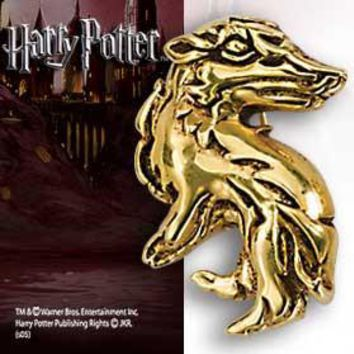 Harry Potter Hogwarts House Pin/Pendant - Hufflepuff