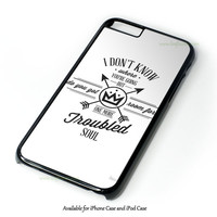 Fall Out Boy Lyric Case Design for iPhone 4 4S 5 5S 5C 6 6 Plus, and iPod Touch 4 5 Case