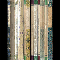 Radiohead 'The Bends' Album As Books Poster Print