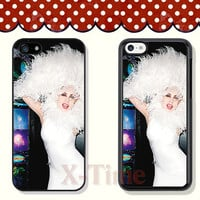 Lady GaGa, iPhone 5 case iPhone 5c case iPhone 5s case iPhone 4 case iPhone 4s case, Samsung Galaxy S3 \S4 Case --X51150
