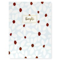 Daisies Thoughts Notebook