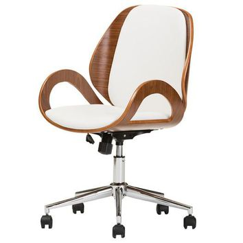 Modern Mid-Back Desk Chair