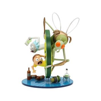 "Kidrobot x Adult Swim Cartoon Network Rick and Morty 7"" Medium Figure"