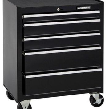 Master Mechanic MM26CBBBK5 5-Drawer Tool Chest, Black