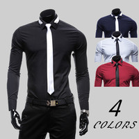 Designer Slim Shirt with Free Tie