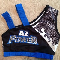 Arizona Power Cheer Bra!