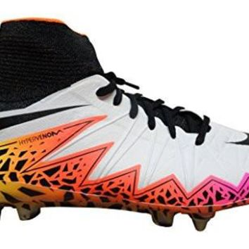 Nike Hypervenom Phantom II SG-Pro Mens Football Boots 747489 Soccer Cleats (US 8, white black total crimson 109)