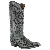 Shyanne® Women's Floral Embroidered Distressed Western Boots