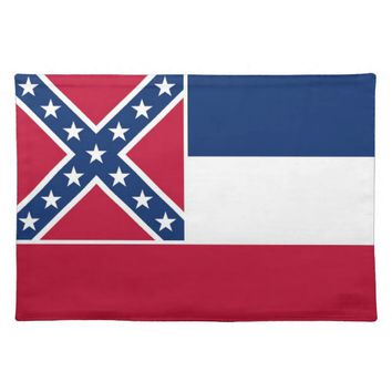 Mississippi Flag American MoJo Placemat