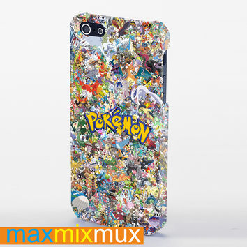 All Pokemon Considered iPhone 4/4S, 5/5S, 5C Series Full Wrap Case