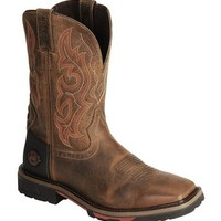 Justin Hybred Work Boots - Square Toe - Sheplers