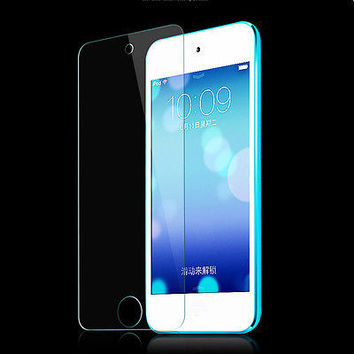 Tempered Glass Screen Film Protector For iPod Touch 5 5G 5th Generation Pop LS09