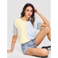 Chilling Striped Tee - Multi