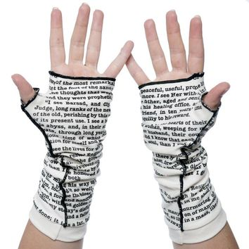 A Tale of Two Cities Writing Gloves